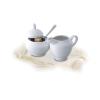 ROTBERG Basic cukortartó, fehér porcelán, 15 cl