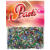 Konfetti színes metál Boldog születésnapot 15 gr