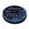 MediaRange Blu Ray BD-RE 2x Cake (10) /MR501/