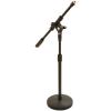 VOICEKRAFT VOICEKRAFT LK-918B Gémes mikrofonállvány, körtalpas, alacsony