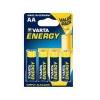 Varta Energy Alkaline AA ceruza elem, 4 db