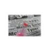 UNI USP-200 View szövegkiemelő fluor rózsaszín