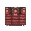 Sony Ericsson W660 billentyűzet piros*