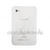 P1000 Galaxy Tab hátlap alkatrészekkel fehér