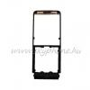 Ericsson W350 előlap hingével narancs-fekete (swap)