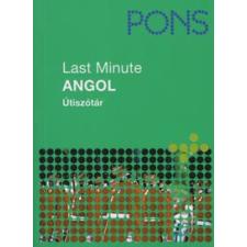 Gordon Walker PONS LAST MINUTE ÚTISZÓTÁR - ANGOL utazás