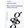 Zirkuli Péter Egy átmenet krónikája - Párizs 1989-1994