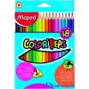 MAPED COLOR`PEPS színes ceruza 18 db/doboz