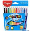 MAPED COLOR`PEPS mosható filctoll 12 db/doboz (karton csomagolás)