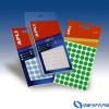 APLI Körcímke 16 mm átmérő piros kézzel írható 432 etikett/csomag