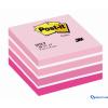 3M/POSTIT 76x76 öntapadós jegyzettömb kocka Aquarell pink