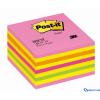 3M/POSTIT 76x76 öntapadós jegyzettömb kocka Lollipop pink