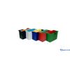DONAU Függőmappa-tároló szürke 5 db függőmappával