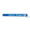 DONAU D-signer U alkoholos marker 2-4 mm kék kúpos