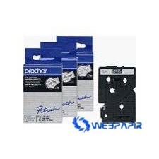 Brother 9 mm-es szalag kék alap/fekete betű címkézőgép