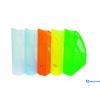 DONAU Iratpapucs műanyag 70 mm áttetsző narancs