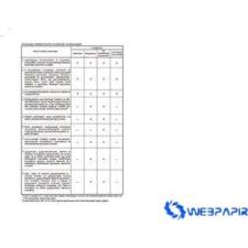VICTORIA Egészségügyi kiskönyv A/6 Füzet C.3151-2 nyomtatvány