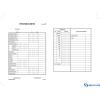 VICTORIA Pénztárjelentés B.Kisker-104 25x2 lapos