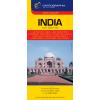 CARTOGRAPHIA KFT / BIZO. India világjárók térképe