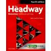 Liz Soars, John Soars NEW HEADWAY ELEMENTARY 4TH ED. WORKBOOK W/KEY & ICHECKER