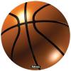 FELLOWES Brite™ kör alakú egéralátét, kosárlabda