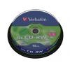 Verbatim CD-RW 700MB, 8-10x, újraírható, hengeren írható és újraírható média