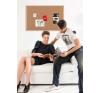 Parafatábla Bi-Office fakeretes 90x120 cm parafatábla