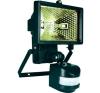 Halogén fényvető mozgásérzékelővel 150W fekete kültéri világítás