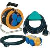 Brennenstuhl BRENNENSTUHL kábeldob és hosszabbító készlet, 5m/10m/10m, H07RN-F 3 G 1,5 mm², 230V