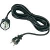 GAO GAO Hálózati hosszabbító 5m fekete HO5VV-F 3 G 1.5 mm²