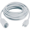 Conrad Hálózati hosszabbító 10m fehér HO5VV-F 3 G 1.5 mm²
