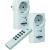 Conrad Home Easy Rádiójel vezérlésű kapcsoló készlet 2 részes HE801S Frekvencia 433 MHz