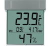 Conrad TFA digitális ablakhőmérő és páratartalom mérő, 30.5020 időjárásjelző