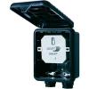 Home Easy Home Easy Süllyesztett kültéri be-/ki kapcsolókapcsoló HE866 Kapcsolási teljesítmény (max.) 400 W Frekvencia 433 92 MHz