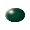 Festék, sötétzöld, selyemmatt, színkód: 363 RAL, színkód: 6020, 18 ml, Revell Aqua