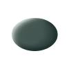 Festék, olivaszürke, matt, színkód: 66 RAL, színkód: 7010, 18 ml, Revell Aqua