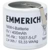Emmerich Akkucsomag, speciál, 32, 6 V 400 mAh, 1007-5-LF