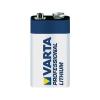Varta Lithium 9 V elem, 1200 mAh, VARTA Professional 9 V