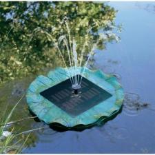 Conrad Napelemes szökőkút világítással kerti szivattyú