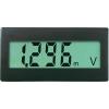 Conrad VOLTCRAFT?DVM-330 DCDigitális beépíthető mérőműszer, panel-méter Beépítési méret 68 x 33 mm