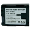 Conrad Conrad energy Canon kamera akku BP-808 7,4 V 700 mAh
