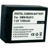 Conrad Conrad energy Panasonic kamera akku BLB13 7,2 V 1000 mAh