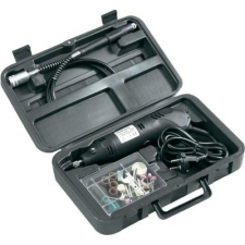 BASETECH Mini fúrógép, gravírozó és csiszológép 80 részes készlet Basetech fúrógép