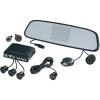 Conrad Rádiójel vezérlésű tolatást segítő videórendszer 8,5 cm-es TFT kijlezővel a tükörben és 4 parkolást segítő érzékelővel