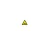Conrad Figyelmeztető tábla, robbanásveszély, 40CM SL, alumínium információs címke