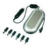 Autós Autós notebook tápegység szivargyújtó adapterhez, 15V/16V/18V/19V/20V/22V/24V / 3.5 A, 84 W, NTS-85 A