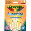 Vékony Lemosható Filctoll 12 darabos - Crayola