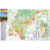 Stiefel Eurocart Kft. Tokaj és a Tokaji borvidék térképe tűzhető, keretes