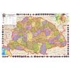 Stiefel Eurocart Kft. A Magyar Szent korona országai térkép, tűzhető, keretes