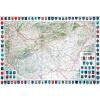 Stiefel Eurocart Kft. Magyarország dombortéképe keretes